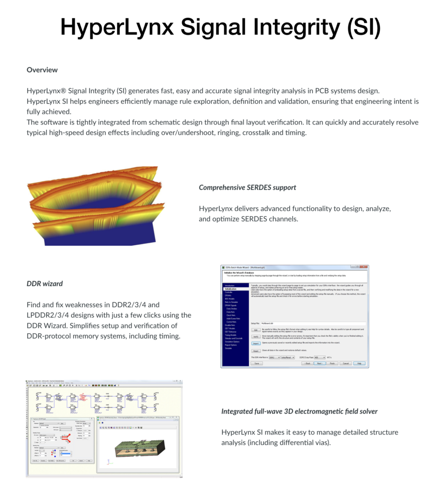 Signal Integrity Overview