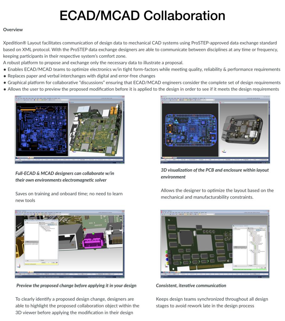 ECAD/MCAD Collaboration